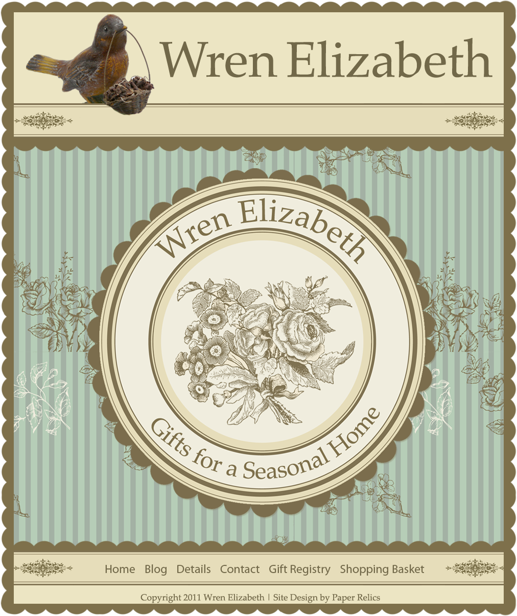 Wren Elizabeth Gifts for a Seasonal Home
